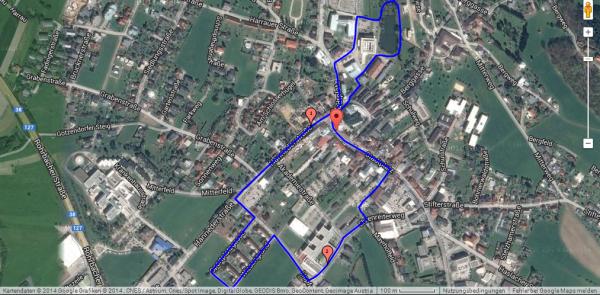 Laufstrecke Berechnen Pedometer : sportunion rohrbach berg die laufstrecke ~ Themetempest.com Abrechnung