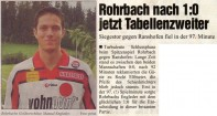 Rundschau, April 2001